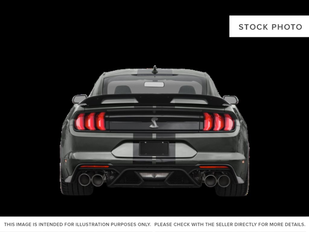 Black[Shadow Black] 2021 Ford Mustang Rear of Vehicle Photo in Dartmouth NS