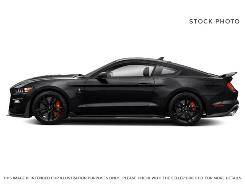 Black[Shadow Black] 2021 Ford Mustang Left Side Photo in Dartmouth NS