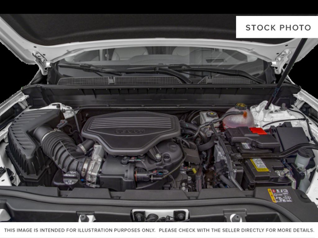 White[White Frost Tricoat] 2021 GMC Acadia Denali Engine Compartment Photo in Canmore AB