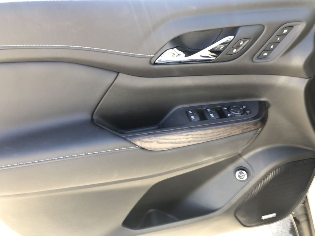 White[White Frost Tricoat] 2021 GMC Acadia Denali Left Front Interior Door Panel Photo in Canmore AB