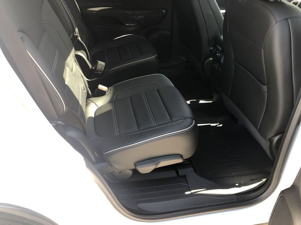 White[White Frost Tricoat] 2021 GMC Acadia Denali Right Side Rear Seat  Photo in Canmore AB