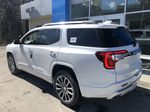 White[White Frost Tricoat] 2021 GMC Acadia Denali Left Rear Corner Photo in Canmore AB