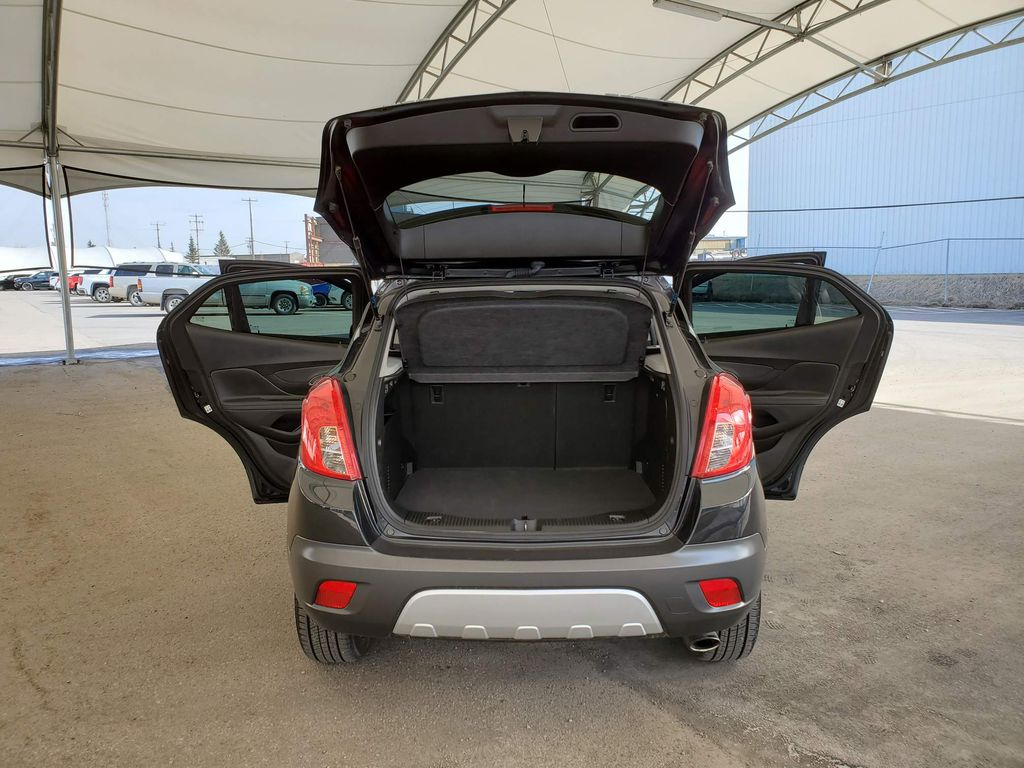 Black 2016 Buick Encore Steering Wheel and Dash Photo in Airdrie AB