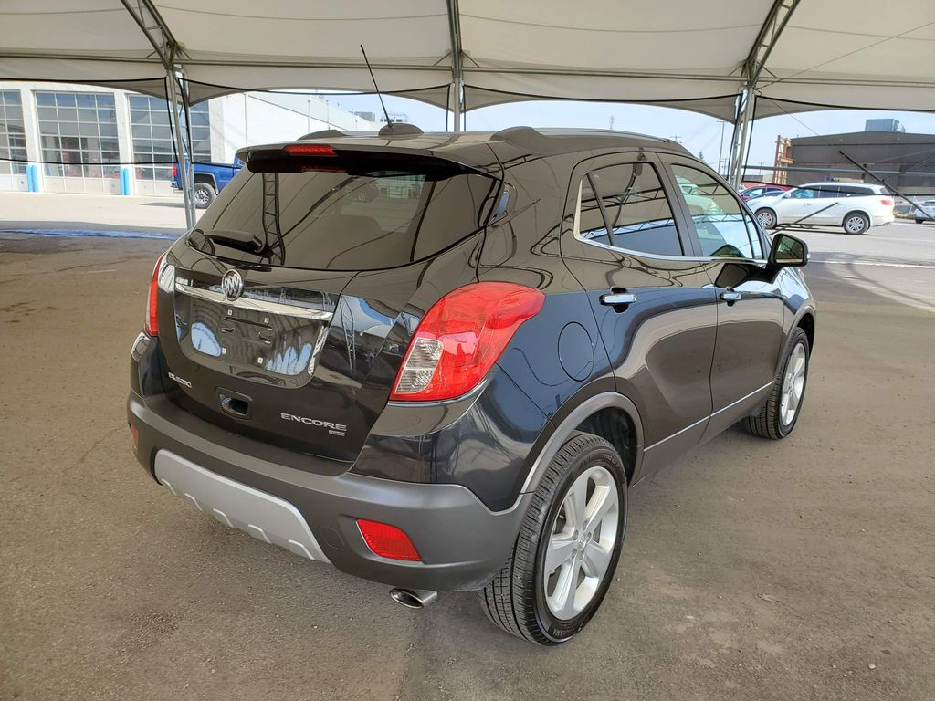 Black 2016 Buick Encore Backup Camera Closeup Photo in Airdrie AB