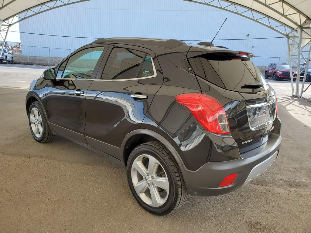 Black 2016 Buick Encore Central Dash Options Photo in Airdrie AB