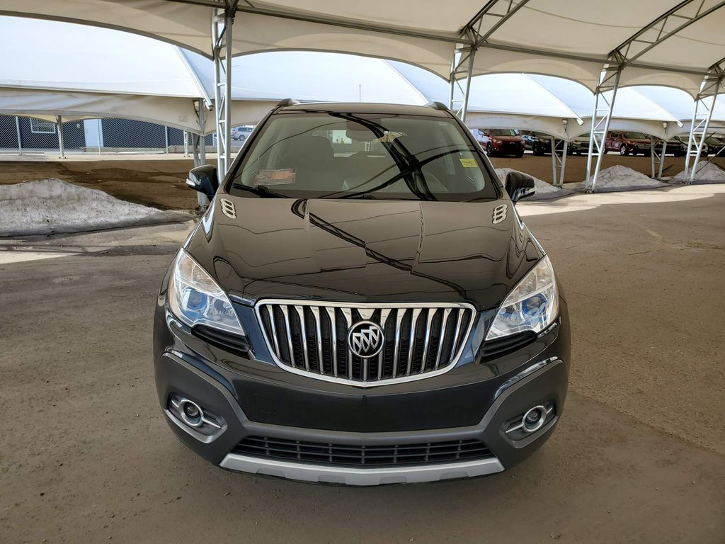 Black 2016 Buick Encore Left Front Corner Photo in Airdrie AB