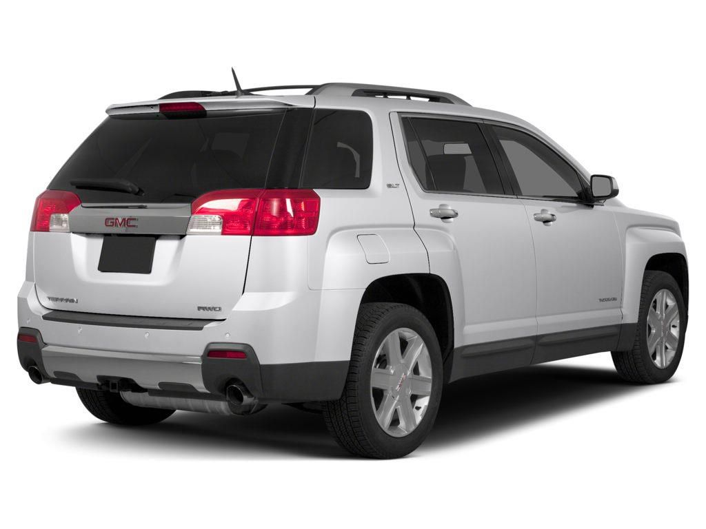 White 2015 GMC Terrain Left Front Rim and Tire Photo in Westlock AB