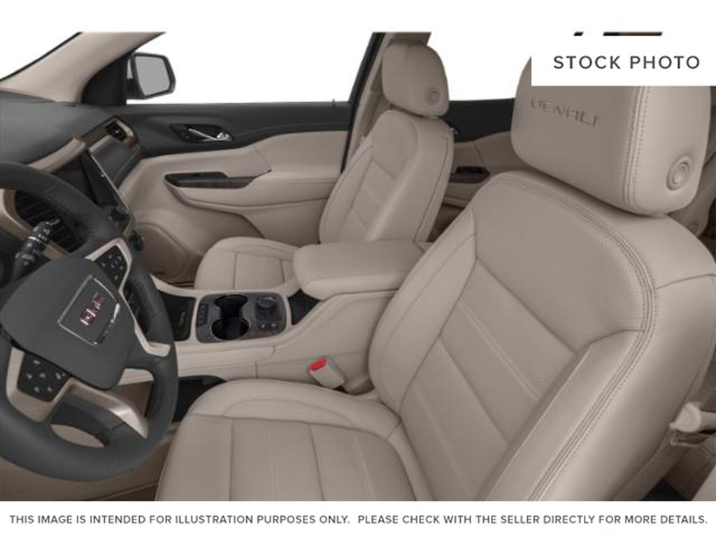 White Frost Tricoat 2021 GMC Acadia Left Front Interior Photo in Oshawa ON