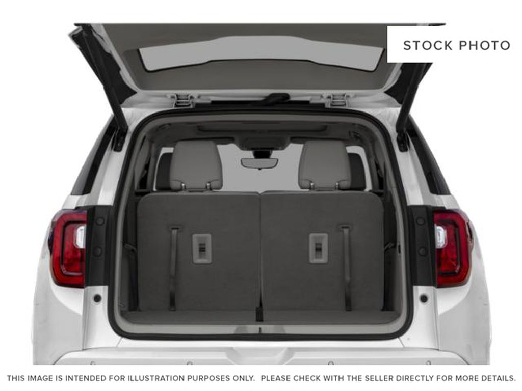 White Frost Tricoat 2021 GMC Acadia Trunk / Cargo Area Photo in Oshawa ON