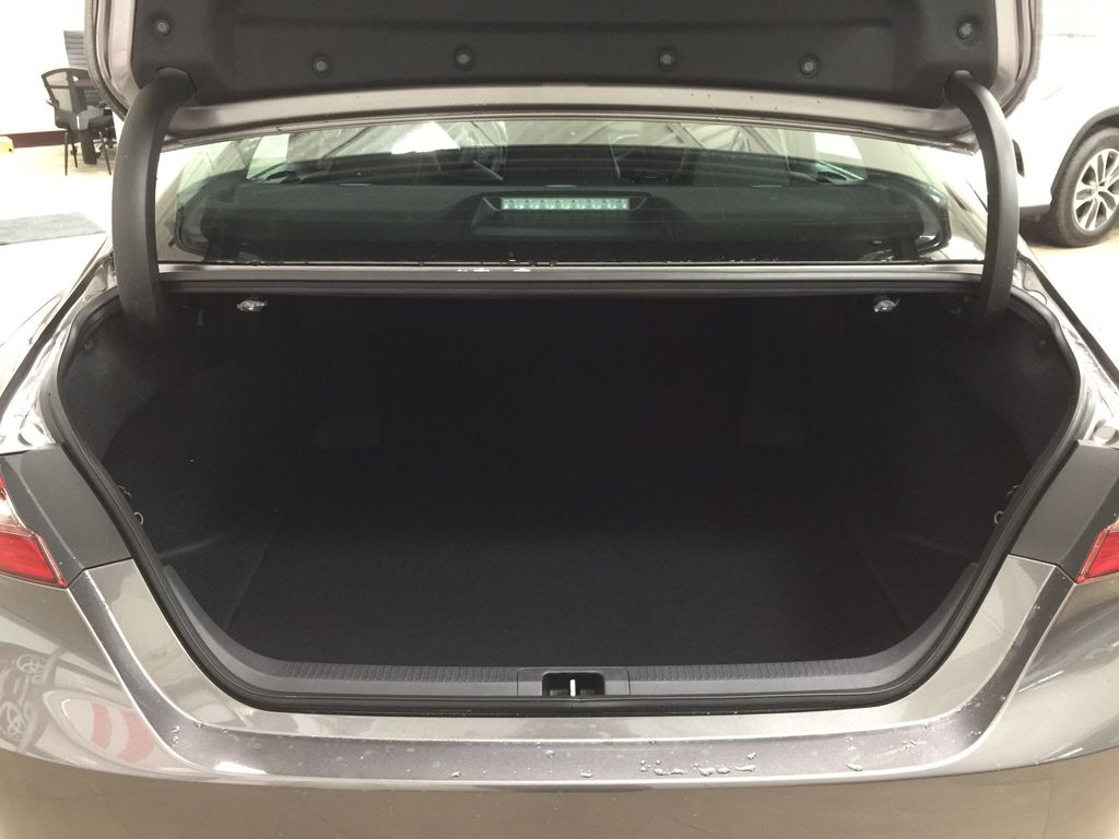 Gray[Pre-Dawn Grey Mica] 2021 Toyota Camry SE FWD Cargo Area/Rear Seats Photo in Sherwood Park AB
