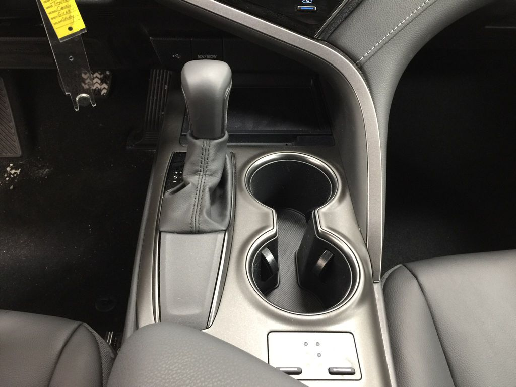 Gray[Pre-Dawn Grey Mica] 2021 Toyota Camry SE FWD Lower Dash Photo in Sherwood Park AB