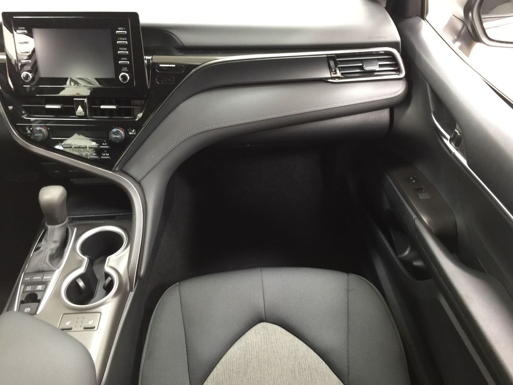 Gray[Pre-Dawn Grey Mica] 2021 Toyota Camry LE Hybrid Right Front Seat Photo in Sherwood Park AB