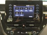 Gray[Pre-Dawn Grey Mica] 2021 Toyota Camry LE Hybrid Infotainment Closeup Photo in Sherwood Park AB