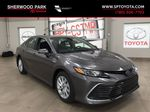 Gray[Pre-Dawn Grey Mica] 2021 Toyota Camry LE Hybrid Primary Photo in Sherwood Park AB