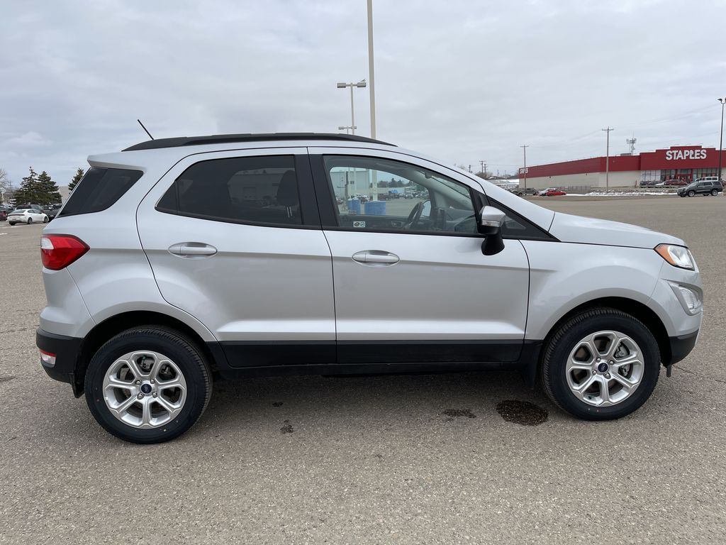 Silver[Moondust Silver Metallic] 2020 Ford EcoSport SE 4WD *Heated Cloth Seats* Backup Cam* Heated Mirrors* Right Side Photo in Brandon MB
