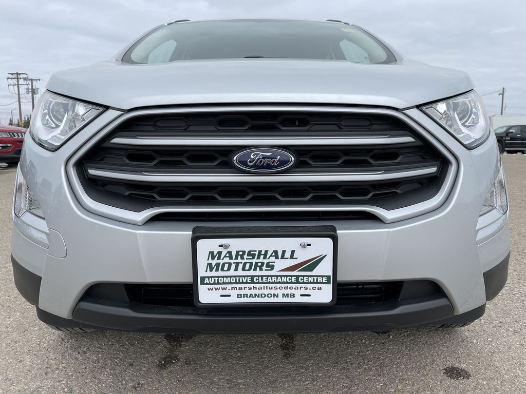 Silver[Moondust Silver Metallic] 2020 Ford EcoSport SE 4WD *Heated Cloth Seats* Backup Cam* Heated Mirrors* Left Front Head Light / Bumper and Grill in Brandon MB