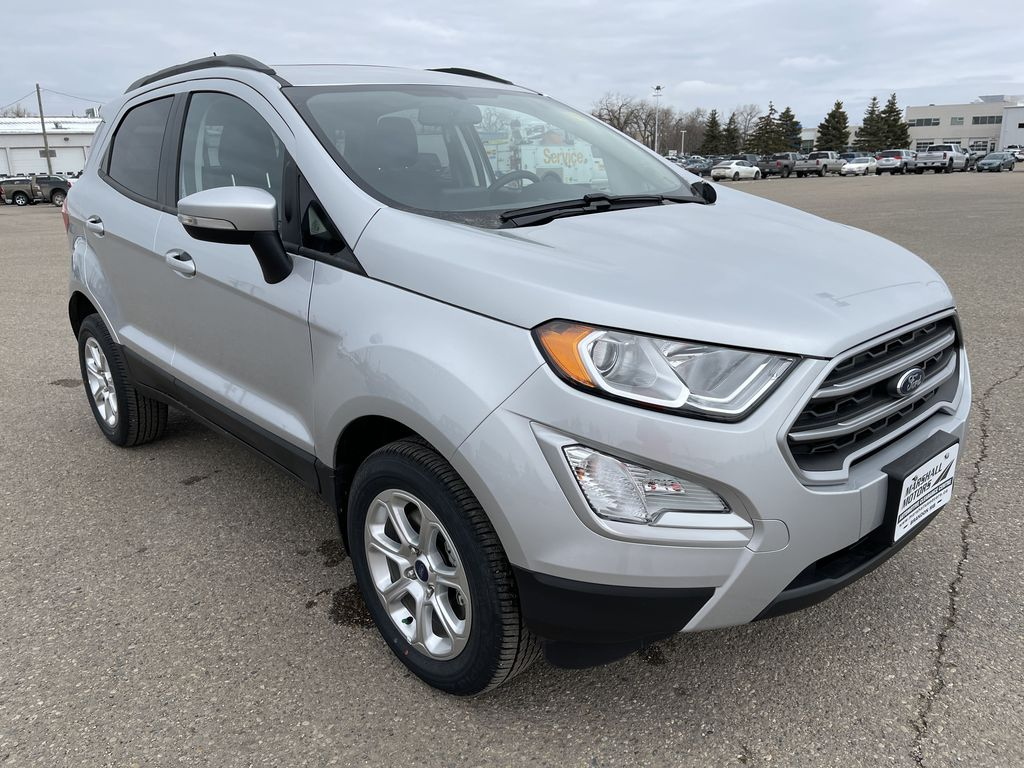 Silver[Moondust Silver Metallic] 2020 Ford EcoSport SE 4WD *Heated Cloth Seats* Backup Cam* Heated Mirrors* Right Front Corner Photo in Brandon MB