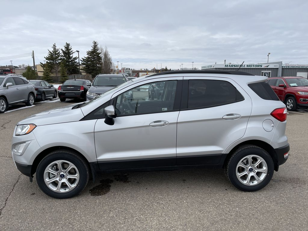 Silver[Moondust Silver Metallic] 2020 Ford EcoSport SE 4WD *Heated Cloth Seats* Backup Cam* Heated Mirrors* Left Side Photo in Brandon MB