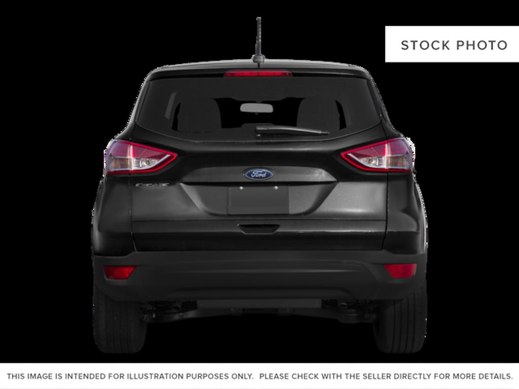 White[Oxford White] 2015 Ford Escape Rear of Vehicle Photo in Kelowna BC