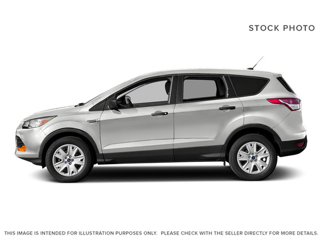 White[Oxford White] 2015 Ford Escape Left Side Photo in Kelowna BC