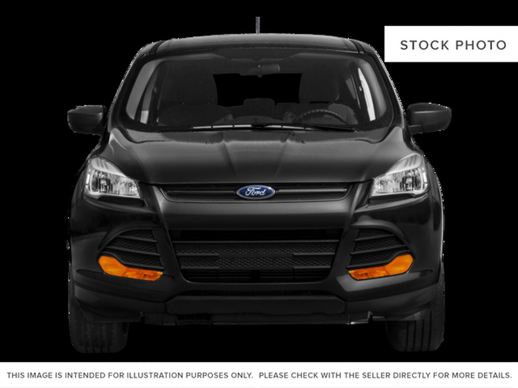 White[Oxford White] 2015 Ford Escape Front Vehicle Photo in Kelowna BC