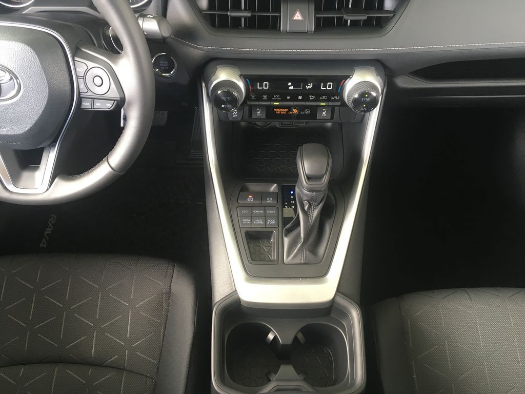 Gray[Magnetic Grey Metallic] 2021 Toyota RAV4 Center Console Photo in Kelowna BC