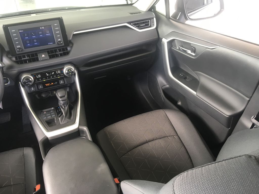 Gray[Magnetic Grey Metallic] 2021 Toyota RAV4 Right Side Front Seat  Photo in Kelowna BC