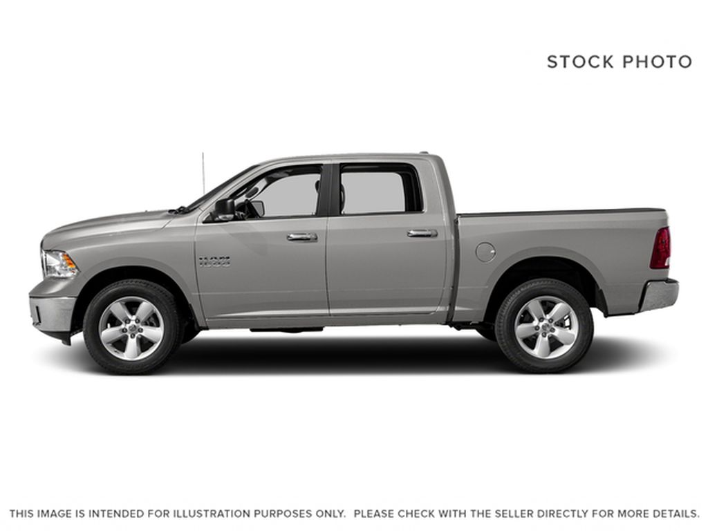 Silver[Bright Silver Metallic] 2017 Ram 1500 Left Side Photo in Fort Macleod AB