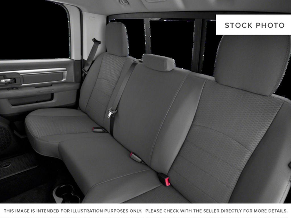 Silver[Bright Silver Metallic] 2017 Ram 1500 Left Side Rear Seat  Photo in Fort Macleod AB
