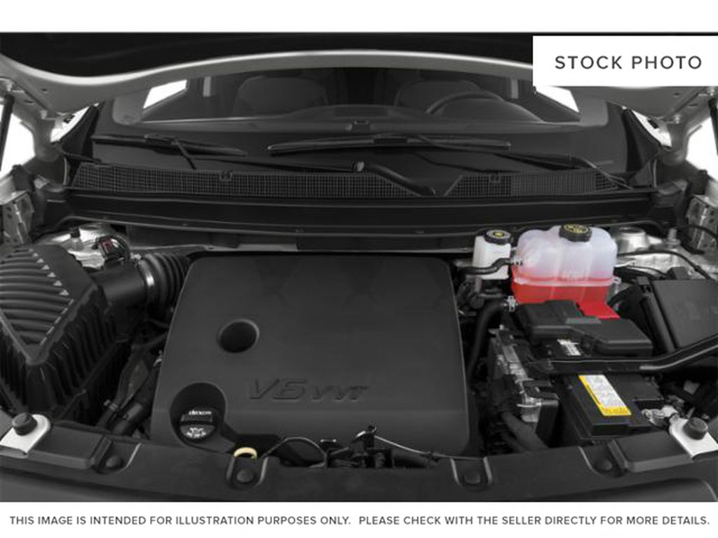 White[Iridescent Pearl Tricoat] 2020 Chevrolet Traverse Engine Compartment Photo in Fort Macleod AB