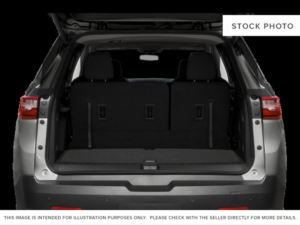 White[Iridescent Pearl Tricoat] 2020 Chevrolet Traverse Trunk / Cargo Area Photo in Fort Macleod AB