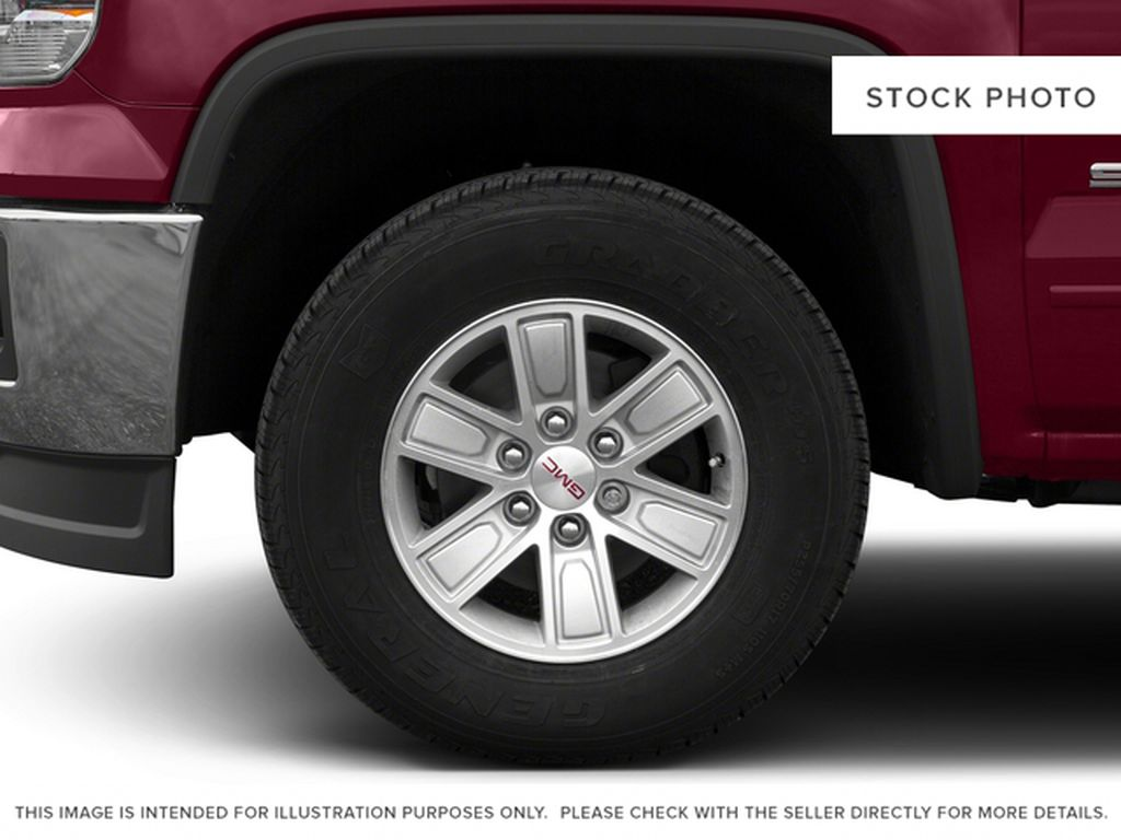 White[Summit White] 2015 GMC Sierra 1500 Left Front Rim and Tire Photo in Fort Macleod AB