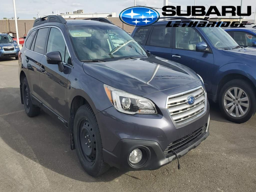 Grey 2015 Subaru Outback Left Front Rim and Tire Photo in Lethbridge AB
