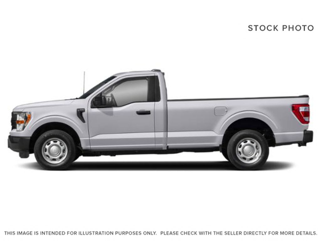 Silver[Iconic Silver Metallic] 2021 Ford F-150 Left Side Photo in Dartmouth NS