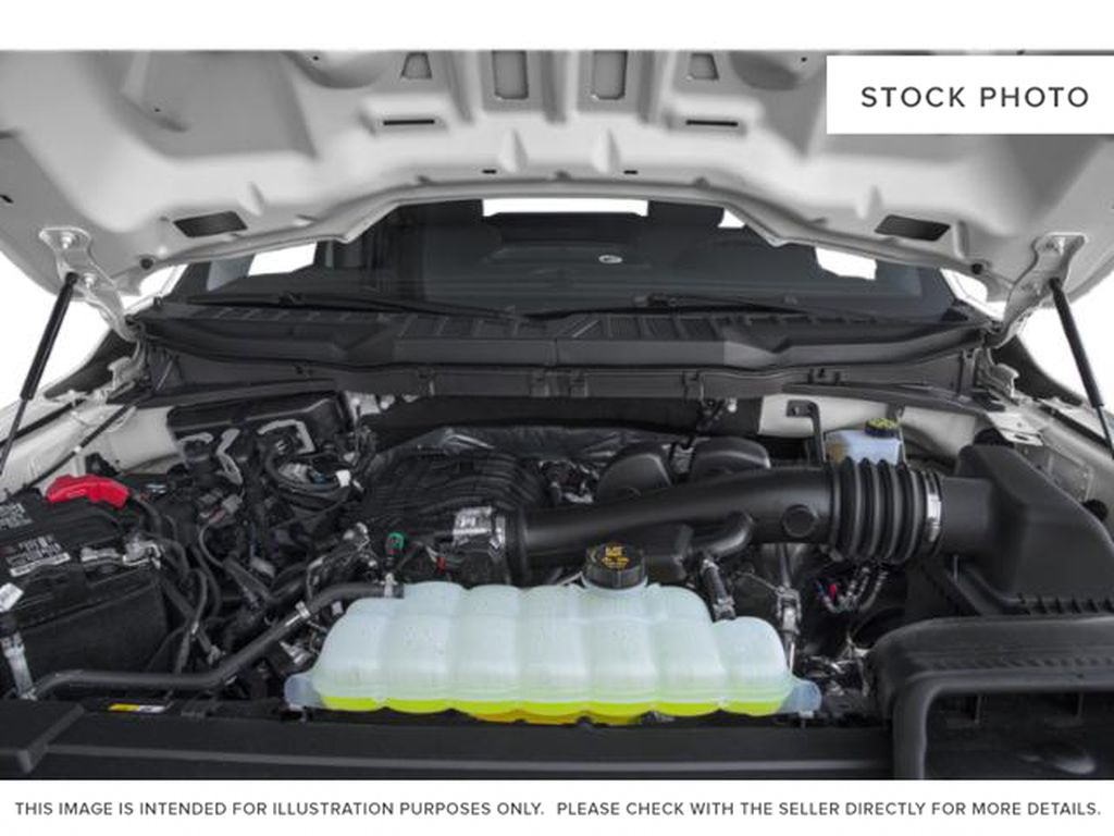 Silver[Iconic Silver Metallic] 2021 Ford F-150 Engine Compartment Photo in Dartmouth NS