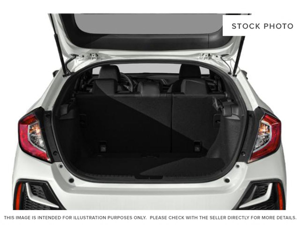 WHITE - NH-883P 2021 Honda Civic Hatchback Trunk / Cargo Area Photo in Kelowna BC