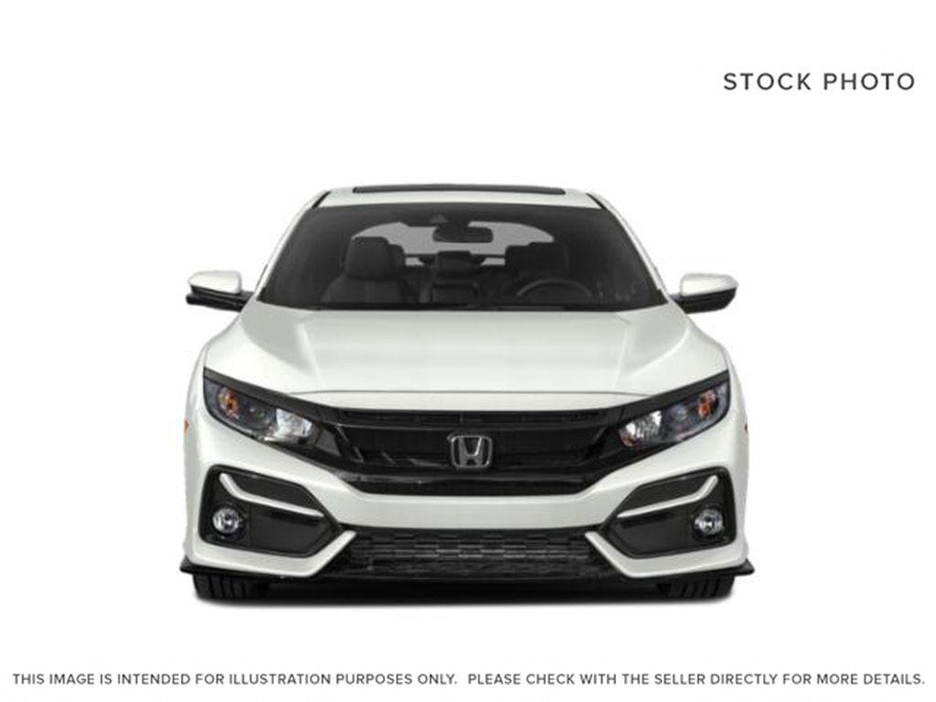 WHITE - NH-883P 2021 Honda Civic Hatchback Front Vehicle Photo in Kelowna BC