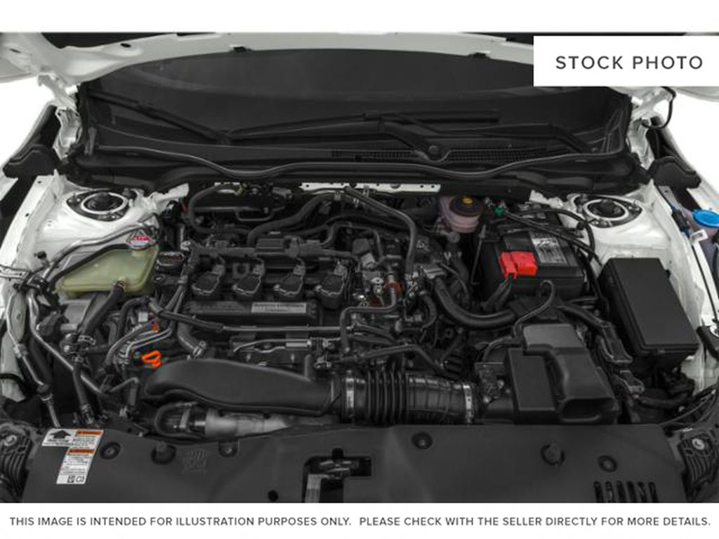 WHITE - NH-883P 2021 Honda Civic Hatchback Engine Compartment Photo in Kelowna BC