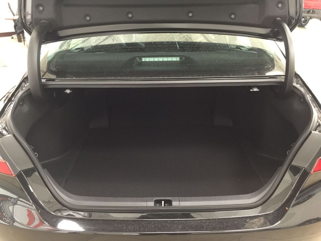 Black[Midnight Black Metallic] 2021 Toyota Camry SE FWD Cargo Area/Rear Seats Photo in Sherwood Park AB