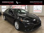 Black[Midnight Black Metallic] 2021 Toyota Camry SE FWD Primary Photo in Sherwood Park AB