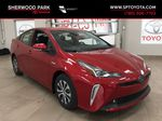 Red[Supersonic Red] 2021 Toyota Prius Technology Advanced AWD-e Primary Photo in Sherwood Park AB