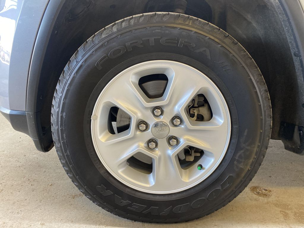 SILVER 2017 Jeep Grand Cherokee Laredo - Backup Camera, Bluetooth, Heated Front Seats Left Front Rim and Tire Photo in Edmonton AB