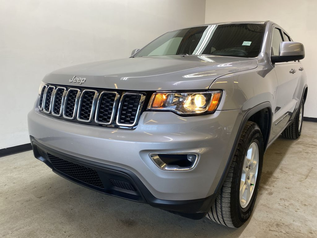 SILVER 2017 Jeep Grand Cherokee Laredo - Backup Camera, Bluetooth, Heated Front Seats Left Front Head Light / Bumper and Grill in Edmonton AB