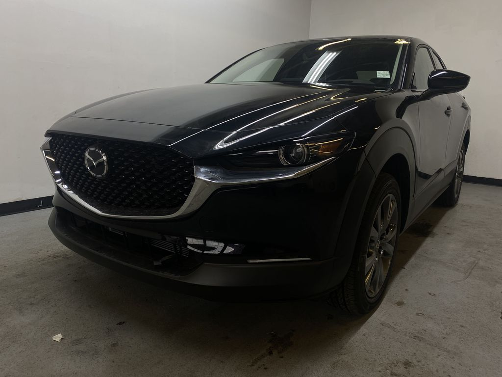 JET BLACK MICA(41W) 2021 Mazda CX-30 GT AWD Left Front Head Light / Bumper and Grill in Edmonton AB