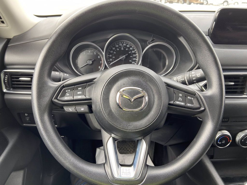 Blue[Deep Crystal Blue Mica] 2020 Mazda CX-5 Front Vehicle Photo in Brandon MB