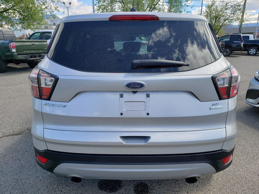 Silver[Ingot Silver] 2017 Ford Escape Rear of Vehicle Photo in Kelowna BC