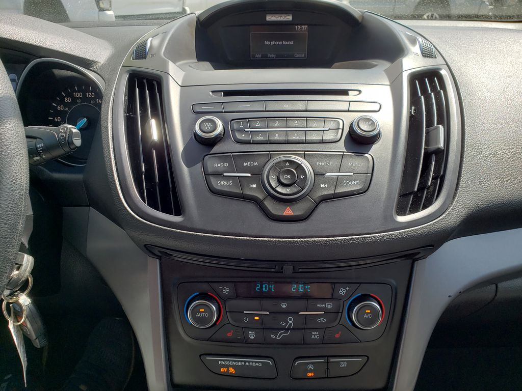 Silver[Ingot Silver] 2017 Ford Escape Central Dash Options Photo in Kelowna BC