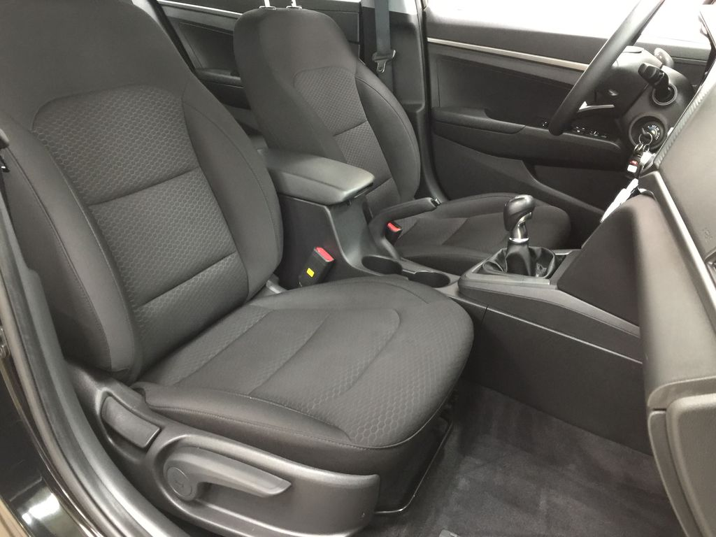 Black[Space Black] 2020 Hyundai Elantra Essential Manual Trans. Right Side Front Seat  Photo in Sherwood Park AB