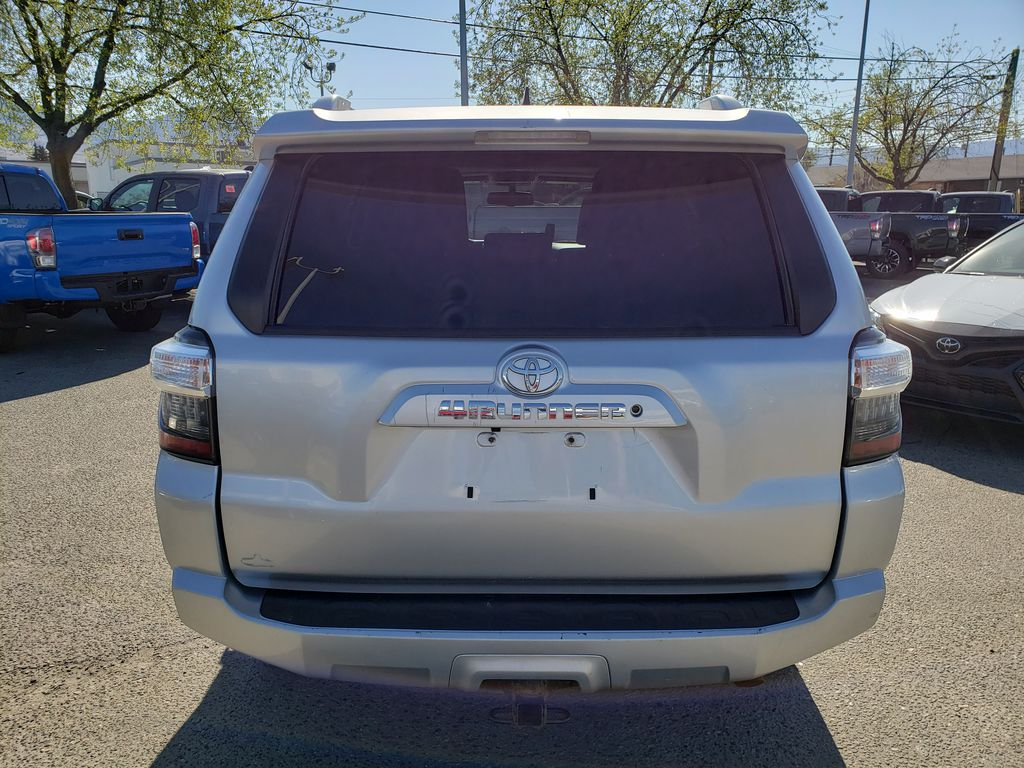 Silver[Classic Silver Metallic] 2016 Toyota 4Runner Rear of Vehicle Photo in Kelowna BC