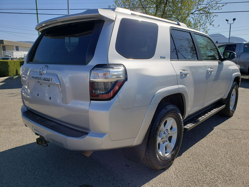 Silver[Classic Silver Metallic] 2016 Toyota 4Runner Right Rear Corner Photo in Kelowna BC
